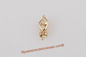 gold pendant mounting